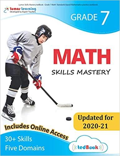 Grade 7 Math skills mastery workbook