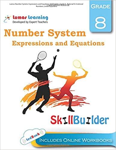 Grade 8 Math skills builder workbook