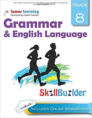 Grade 8 ELA skills builder workbook