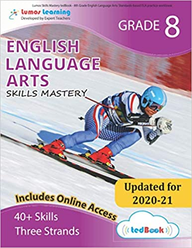 Grade 8 ELA skills mastery workbook