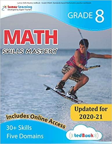 Grade 8 Math skills mastery workbook