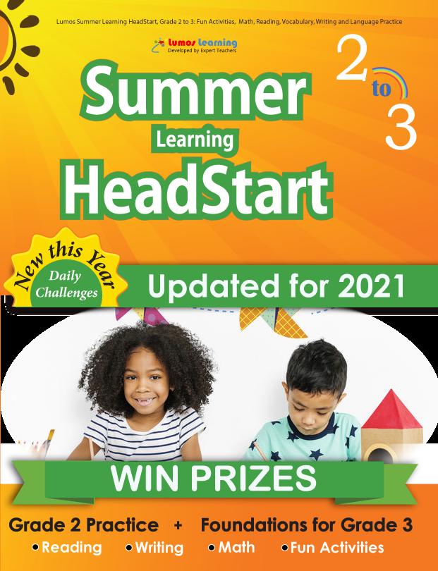 Summer Program HeadStart workbook grade 2 to 3