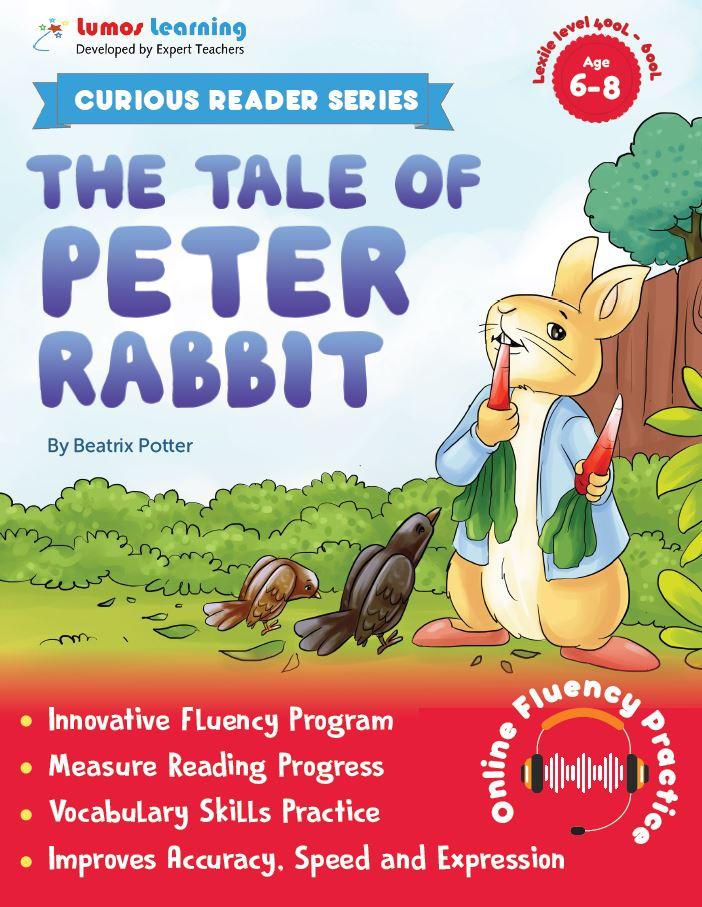tale of peter rabbit - Curious Reader  - Reading fluency program