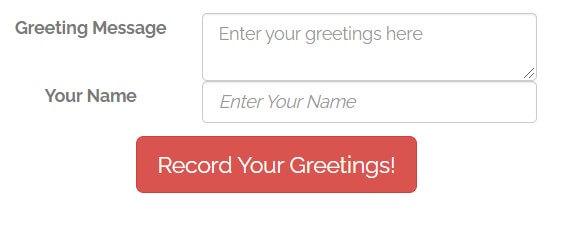 Greetings-name-Record