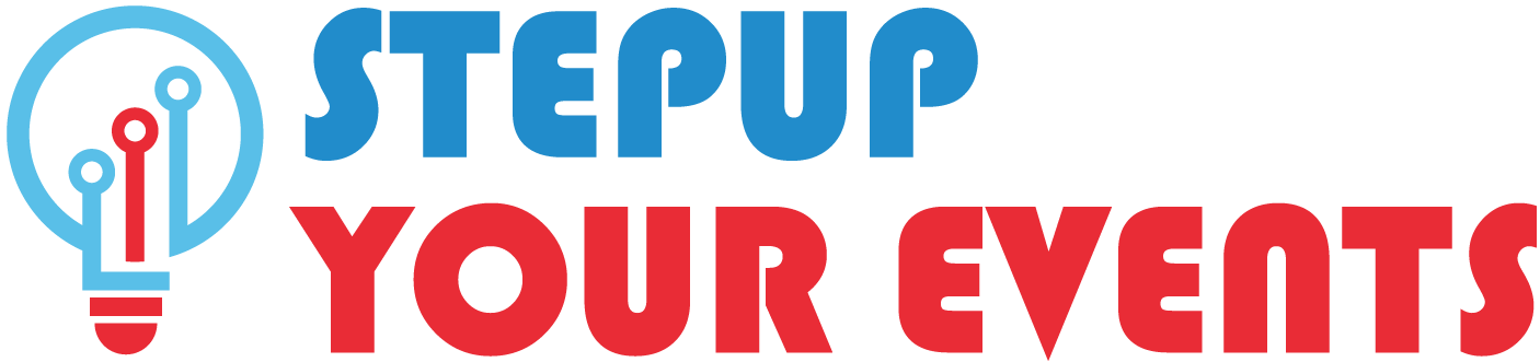 StepUp Your Events Logo